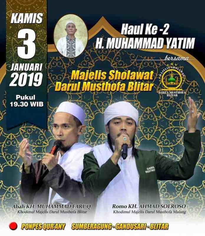 Haul Ke-2 H. Muhammad Yatim