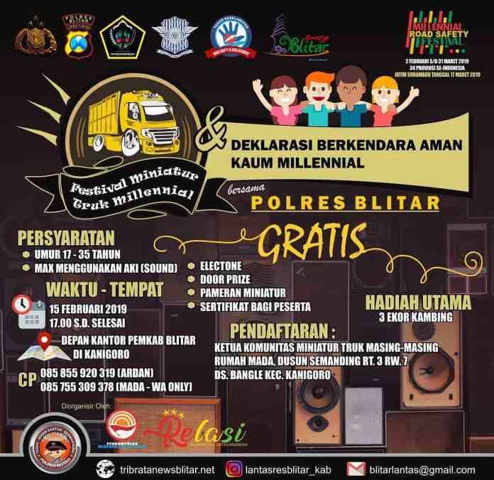 Festival Miniatur Truk Millennial