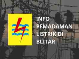 Info Pemadaman Listrik di Blitar