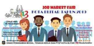Job Market Fair Kota Blitar Tahun 2019