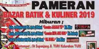 Bazar Batik dan Kuliner 2019