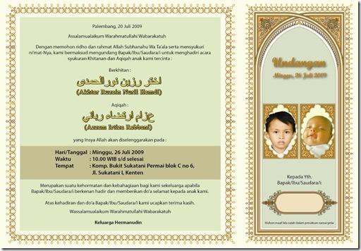Selamatan Dirumah Pak Herman Info Bukit Sukatani Permai Palembang