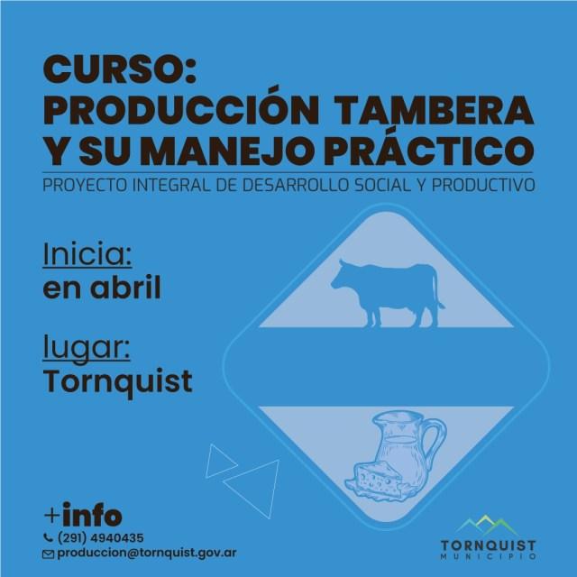 Producción tambera