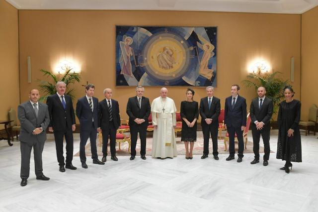 Relaciones bilaterales entre el Presidente y el Papa