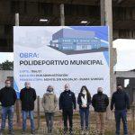 Cnel Pringles:  Presentaron el inicio de obra del futuro Polideportivo en el Balneario de Municipal.