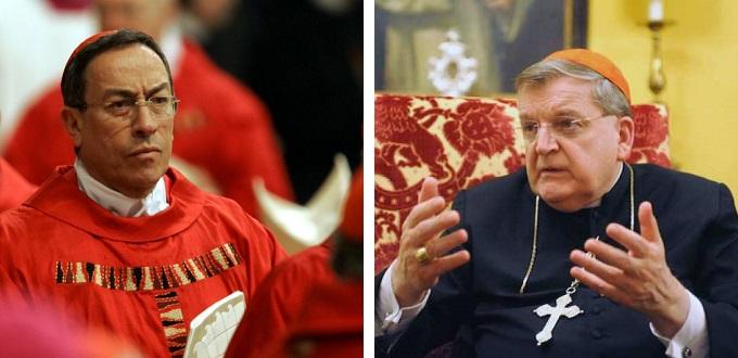 El Cardenal Maradiaga arremete contra el Cardenal Burke