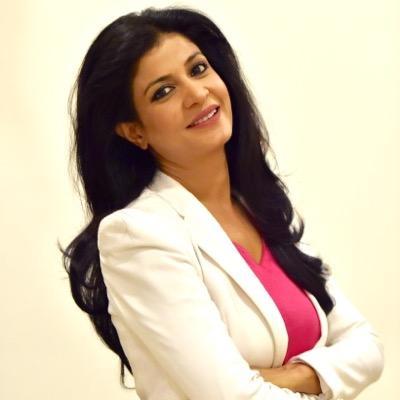 Anjana Om Kashyap Aaajtak TV Anchor Personal details   Full Biography   Husband Name