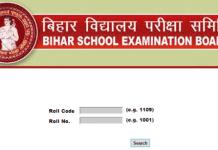 Check Bihar Board MatricClass 10 Result 2018 at www.biharboard.ac.in