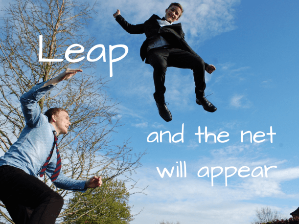 Leap and the Net will appear PNG