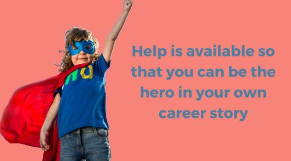 Career Warrior Super Hero