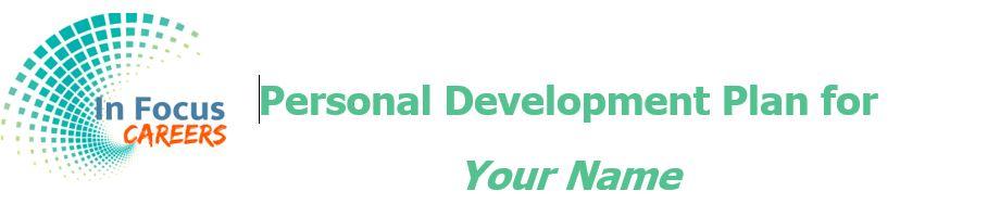 Personal Development Plan