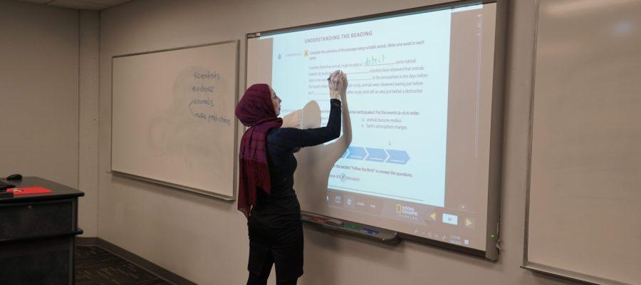 Classroom presentation tool
