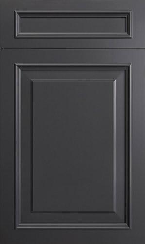 Wellington Peppercorn Grey Raised Panel Kitchen Cabinet