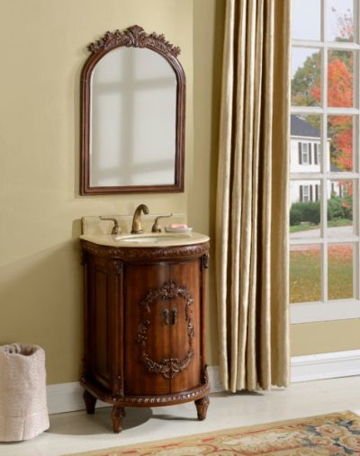 Wellington 21′ Teak with Matching Mirror