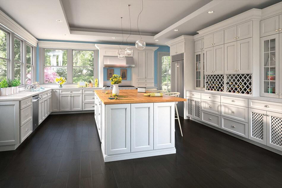 Uptown White Style Kitchen