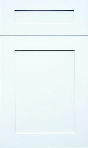 Hampton White Raised Panel Kitchen Cabinet