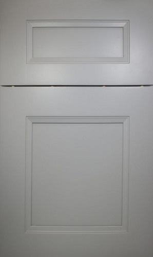 Newport Grey Raised Panel Kitchen Cabinet