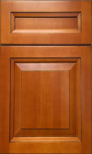 Sahara Maple Raised Panel Kitchen Cabinet