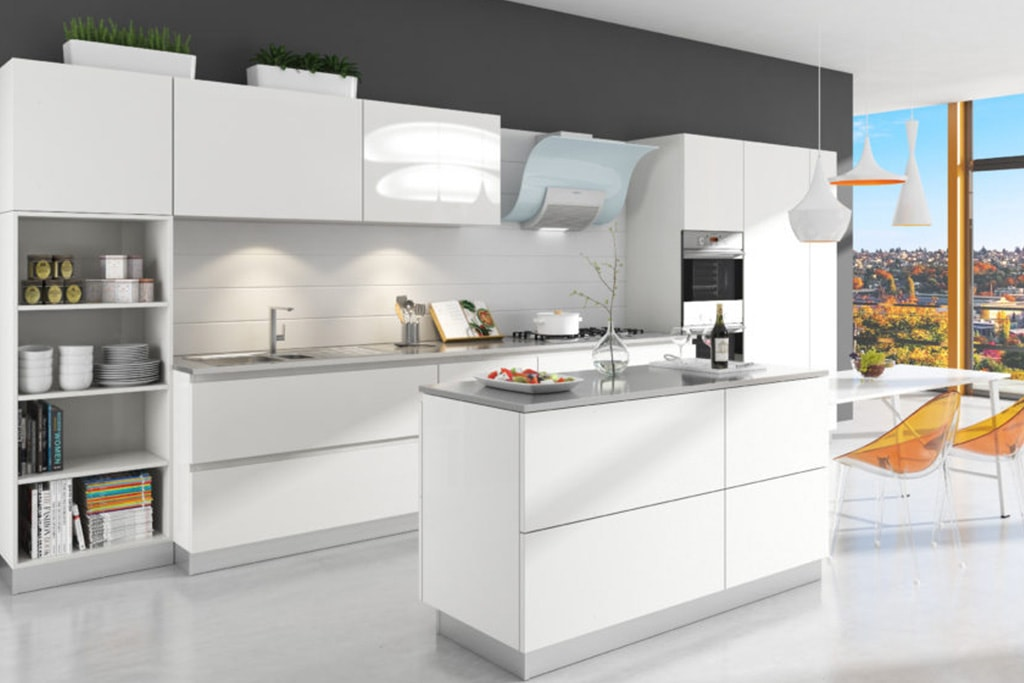 Alusso kitchen cabinets