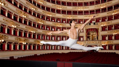 Photo of Roberto Bolle alla Scala di Milano
