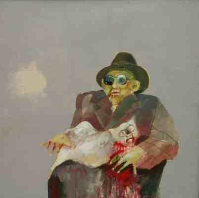 muestra de pinturas de Luis Sosa Luna