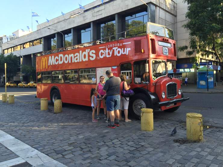 Bus turistico - City Tour Cordoba