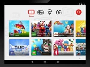 Así será la aplicación. La aplicación se llamará YouTube Kids, será de acceso libre y brindará una interfaz muy fácil de usar además de contenido apropiado para niños.