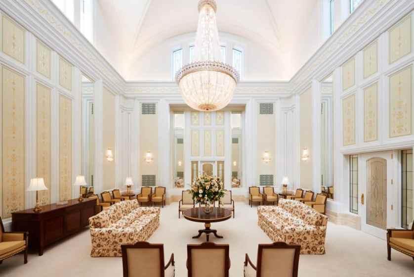 Salon Celestial del Templo Mormon de Cordoba