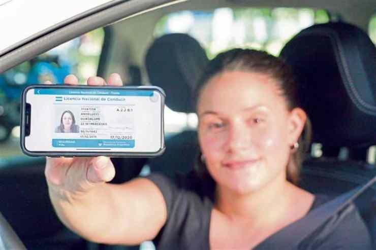 licencia nacional de conducir digital