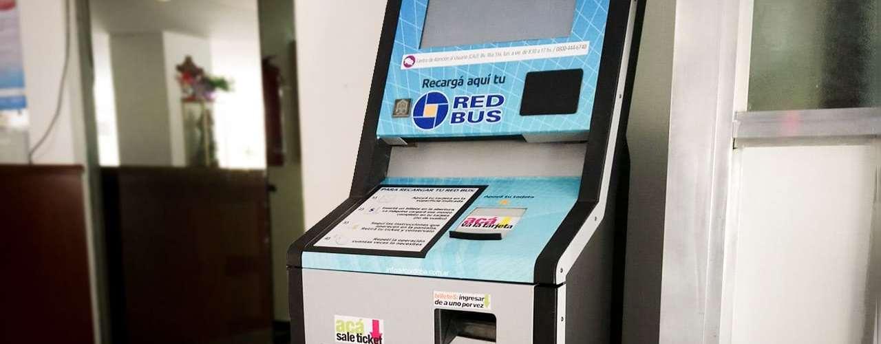 máquinas automáticas de red bus en córdoba para recargar