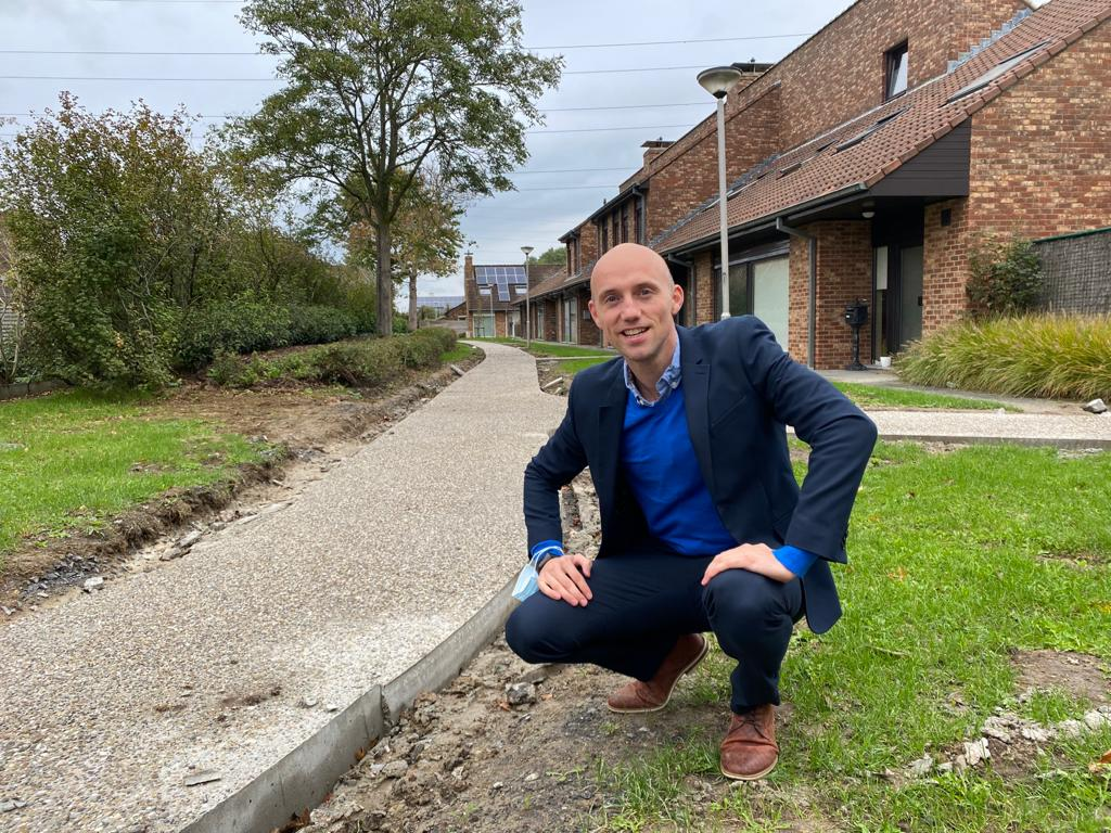 Koningswijk wordt mooier en toegankelijker met nieuwe paden en groen