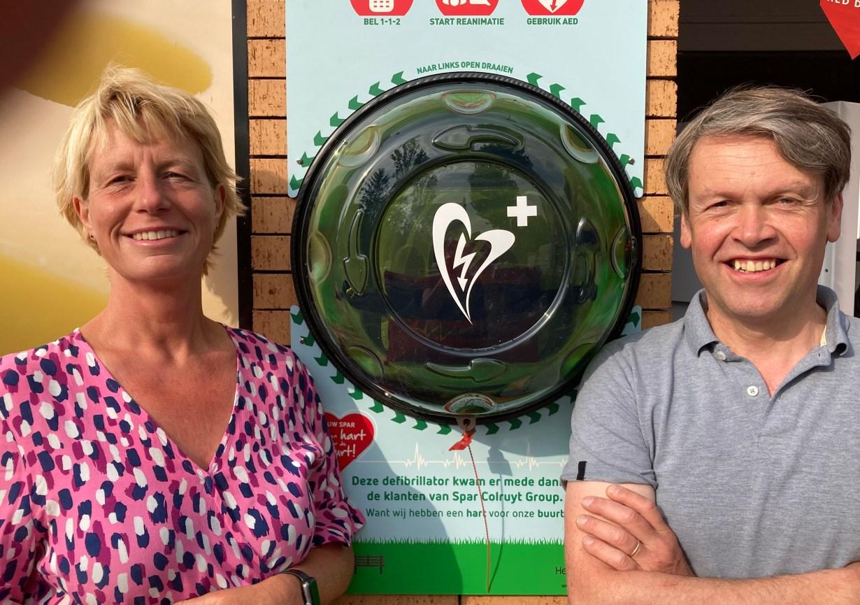 SPAR-klanten sparen voor hartdefibrillator in Sint-Lodewijk