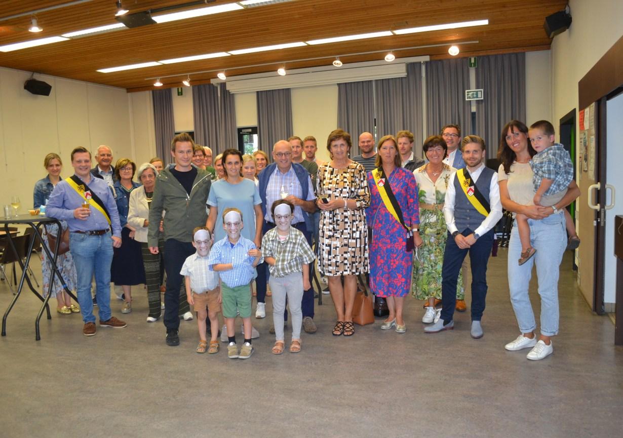 Geert Huysentruyt werd officieel gehuldigd