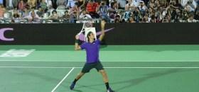 1° Partido de Del Potro Vs Federer en Tigre – Argentina