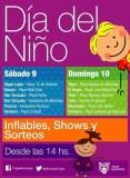 Festejos del Día del Niño en Tigre