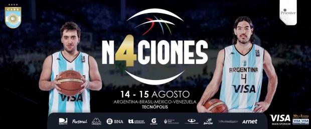 Torneo 4 Naciones de Basket