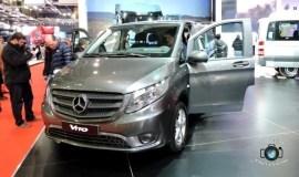Mercedes presento en el 7° Salón la nueva van Vito