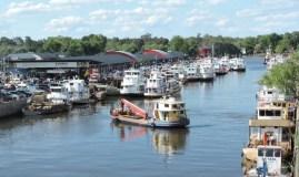 Los productos de Mendoza ya se pueden disfrutar en el Puerto de Frutos