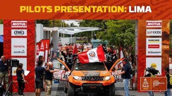 Se larga el Dakar 2019 100% Peru