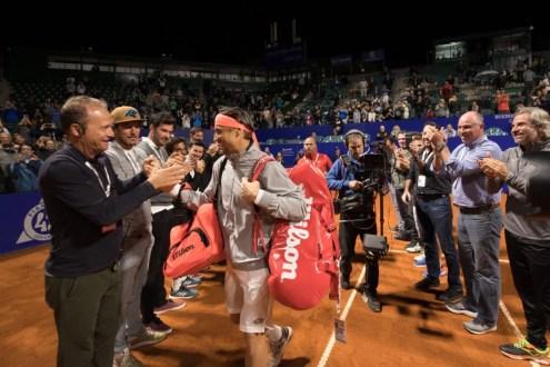 David Ferrer vivió un emotivo homenaje antes de su debut en el Argentina Open