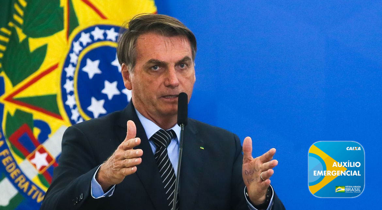 Urgente: Bolsonaro confirma prorrogação de auxílio emergencial até o fim do ano