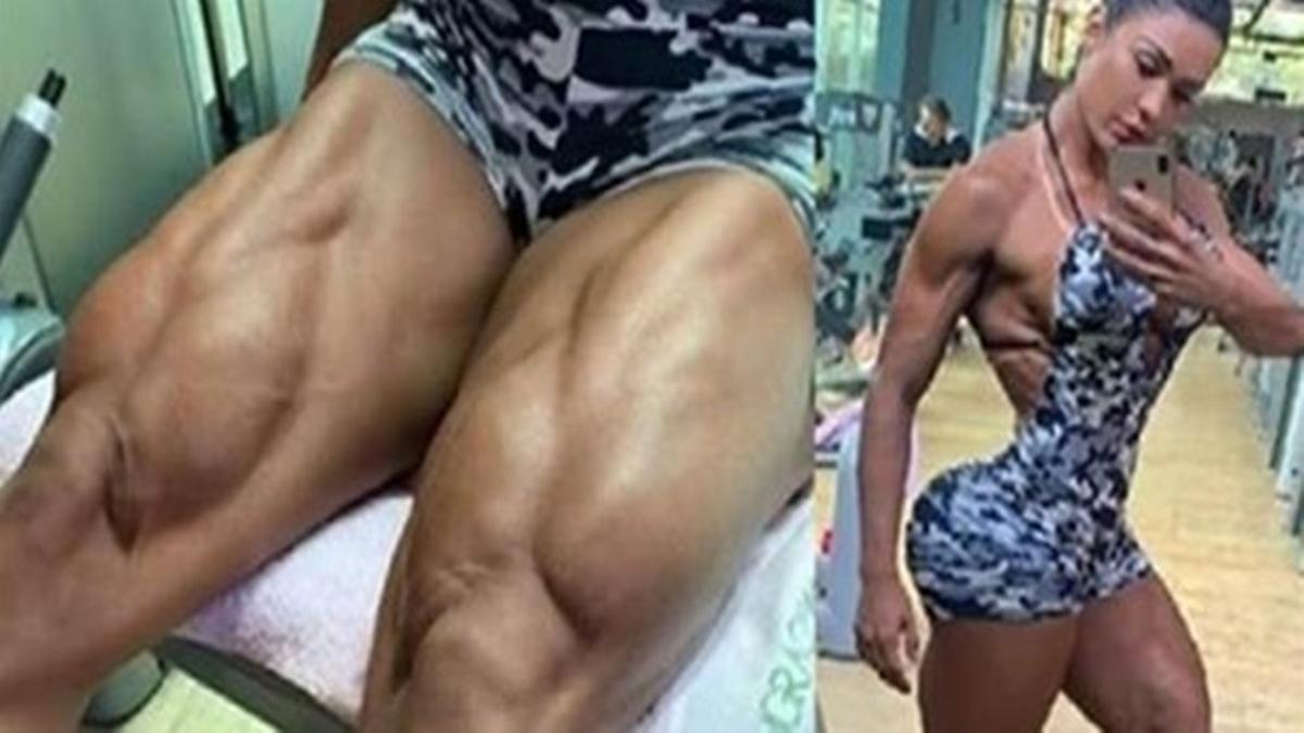 """Gracyanne Barbosa exibe seu corpo que lhe permitiu ganhar o título de mulher mais """"linda e perfeita"""" do Brasil!"""
