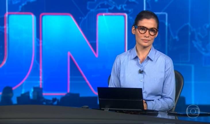Renata Vasconcellos dá triste notícia de mortes ao vivo no Jornal Nacional