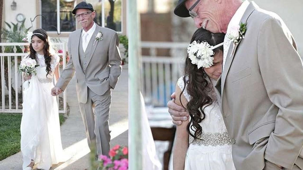 Pai decide se casar às pressas com filha de 11 anos e motivo deixa o mundo em lágrimas