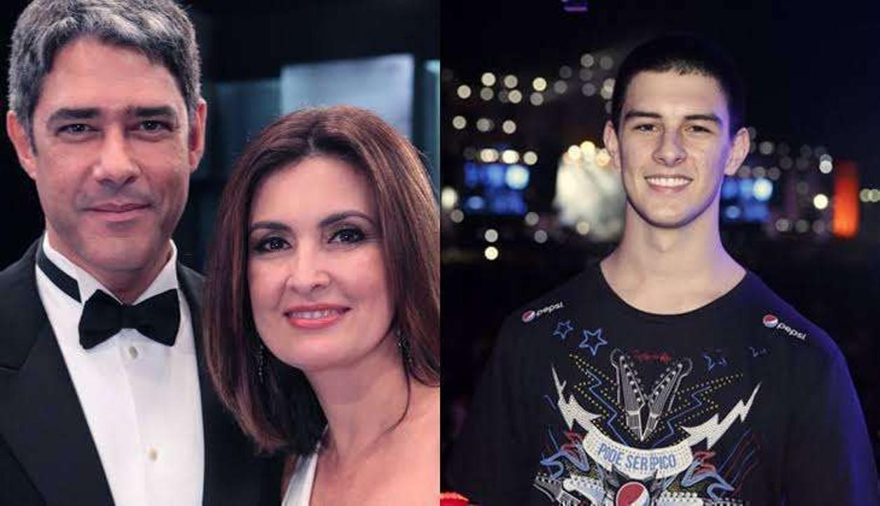 Filho de Fátima Bernardes e Bonner toma coragem decide ASSUMIR seu grande amor