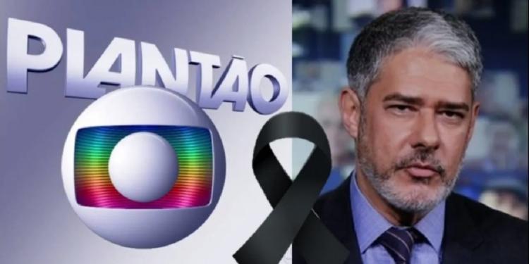 Luto: Bonner entra ao vivo no Jornal Nacional, revela morte e deixa todos comovidos