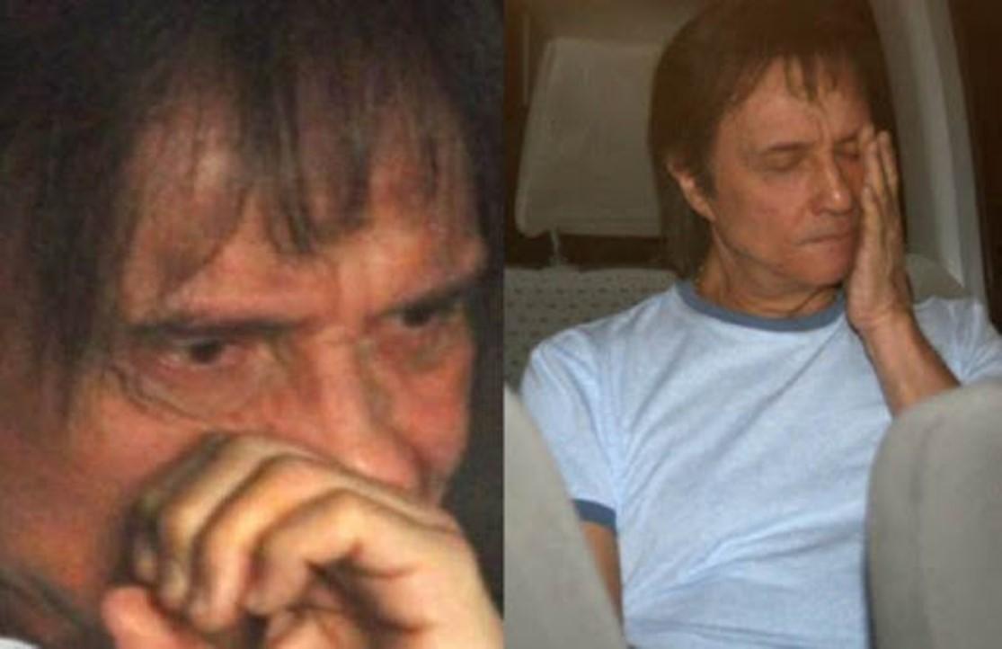 Roberto Carlos passa mal em velório do filho em São Paulo – Veja fotos