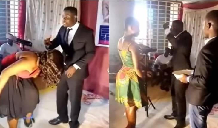 Vídeo: pastor depila partes íntimas de mulheres da igreja na frente de todos prometendo o espírito santo