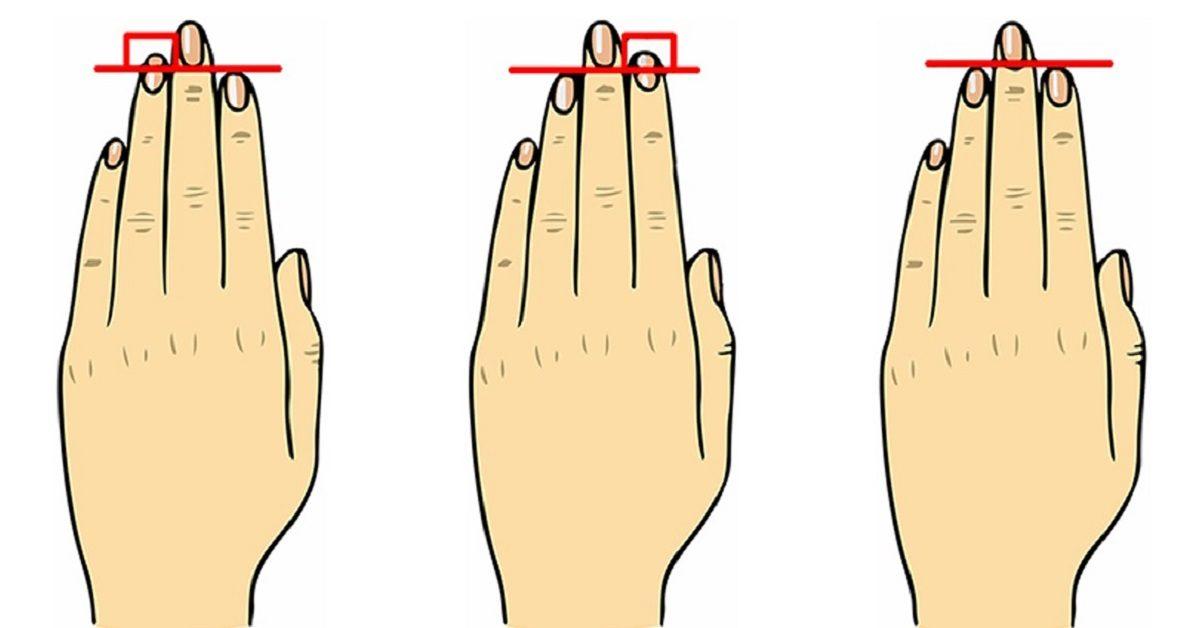 O que seu dedo anelar revela sobre quem você é