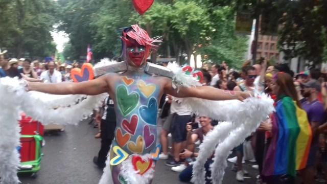 Galería de imágenes de la manifestación del Orgullo LGTBI en Madrid